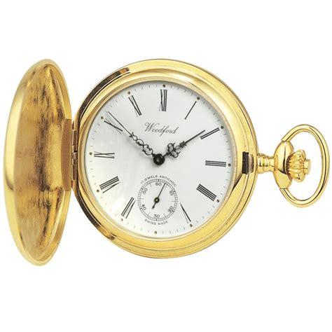 woodford gold plated half pocket 1016