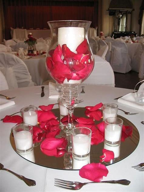 quinceanera table decorations centerpieces roses never fails for table decor my wedding ideas