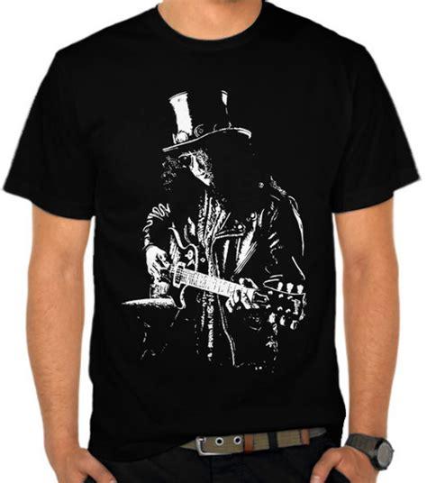 Kaos Guns N Roses Gunrose 11 jual kaos slash silhouette guns n roses satubaju