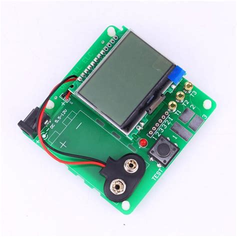 diy capacitor tester new lcd newest diy mg328 multifunction test version of inductor capacitor esr meter analyzer
