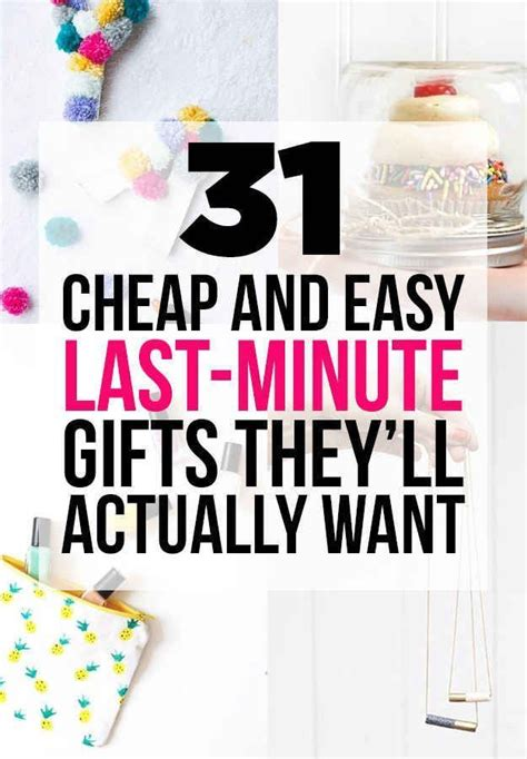 1000 ideas about last minute birthday gifts on