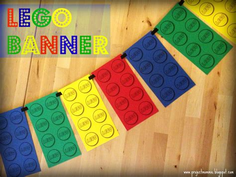 Project Mommie A Lego Race Car 5th Birthday Party Lego Happy Birthday Banner Template
