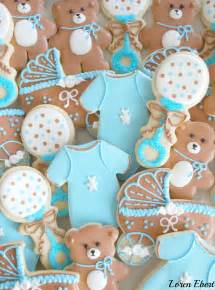 Cookie Baby Shower Decorations by The Baking Sheet Baby Shower Cookies It S A Boy