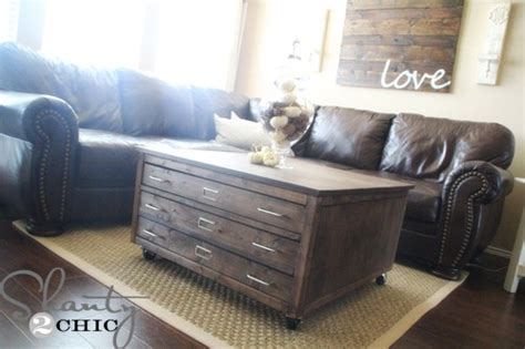 Check Out My Awesome Diy Coffee Table On Wheels Shanty 2 Coffee Table With Wheels Pottery Barn