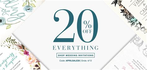 Wedding Paper Divas Promo Code by Wedding Paper Divas Promo Code Deals Save 20 Site