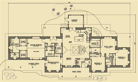 Rustic Family Straw Bale Plans Strawbale Com Rustic House Designs Floor Plans