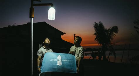 liter of light solar panel liter of light fighting energy poverty by the simplest