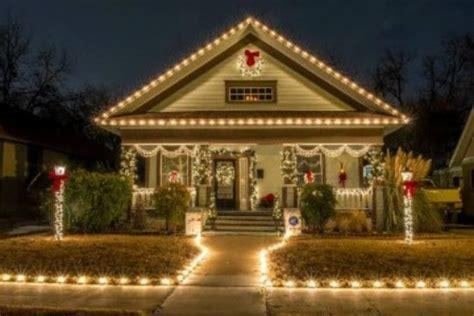 casas navide as decoracion original para casas con luces navide 241 as como