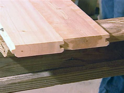 tongue and groove top how to install a tin roof how tos diy