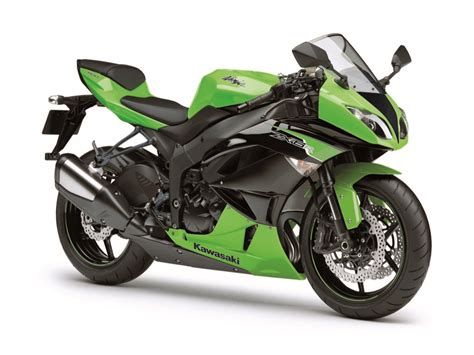 Foto Motor by Kawasaki Zx 6r Gets New Colors For 2012 Autoevolution