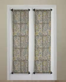 small curtain for front door window best 20 front door curtains ideas on door