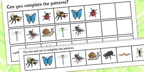 patterns in nature twinkl free worksheets 187 pattern symmetry worksheets free math