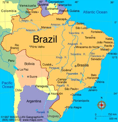 map of south america brazil brazil miracleval