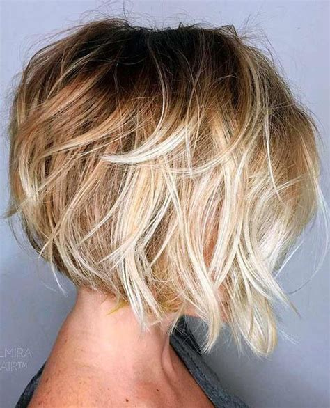 dimensional shag hairstyle 30 layered bob haircuts for weightless textured styles