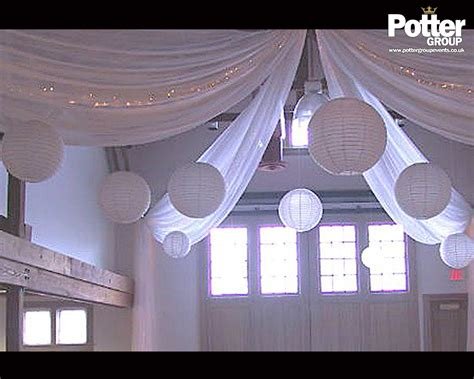 wall drapings wall draping ceiling decor potter group
