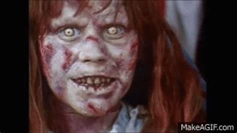 the exorcist film headspin the exorcist head spinning dummy on make a gif