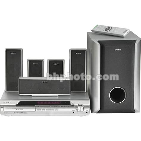 sony demo dav dx255 home theater system b h photo