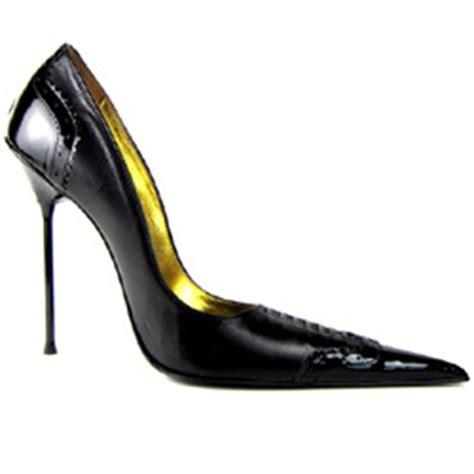 Log In To Win A Longch Black Patent Legende Bag by High Heel Pointed Stiletto Brogue Leather Patent