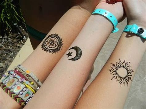 sun and moon best friend tattoos 88 best friend tattoos for bffs