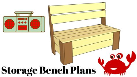 youtube bench how to build a storage bench youtube