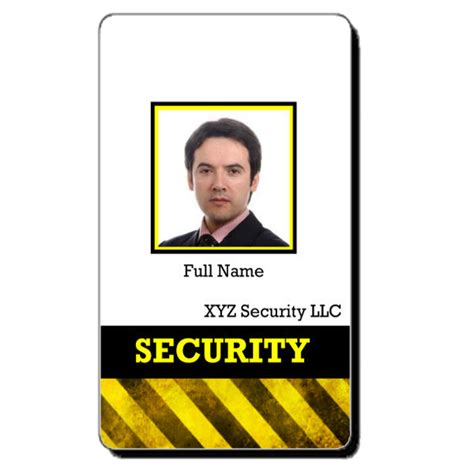 security badge template free custom id card templates by idcreator make id badges