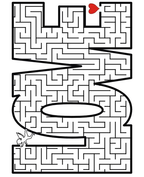 Free mazes for kids coloring pages