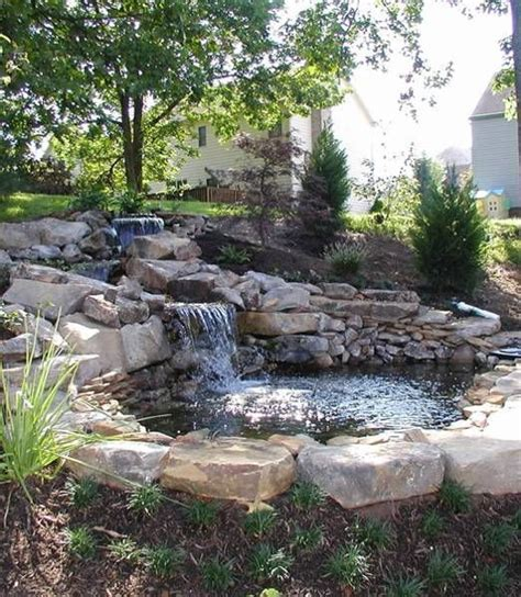 backyard waterfalls and ponds 312 best images about pond and waterfall ideas on pinterest