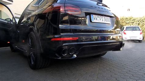 Porsche Cayenne Turbo Auspuffanlage by Porsche Cayenne Gts Sound Exhaust