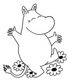 moomins coloring pages