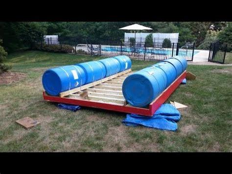 home built pontoon boat homemade pontoon boat plans homemade pontoon boat 2 youtube
