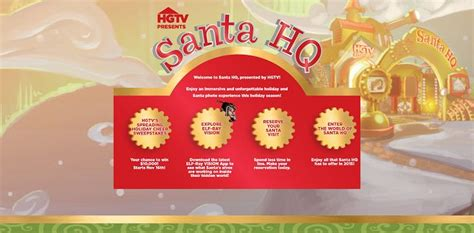 Holiday Cash Sweepstakes 2014 - hgtv s spreading holiday cheer sweepstakes santa hq com win win 10 000