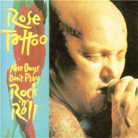 rose tattoo nice boys boys don t play rock n roll cd at
