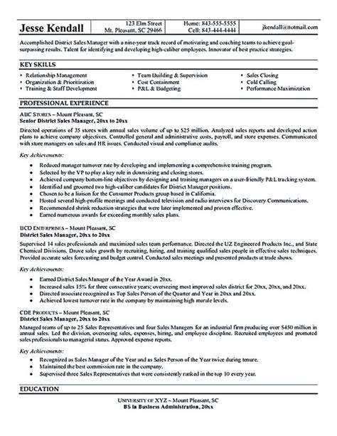 helpful resume tips the sales manager resume should a great explanation