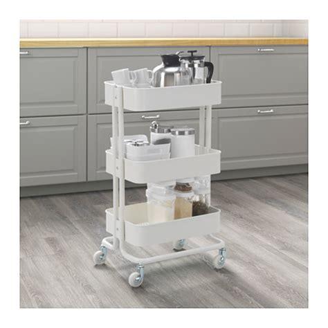 R 197 Skog Trolley White 35x45 Cm Ikea