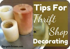 thrift home decor tips for thrift shop decorating bargainbriana