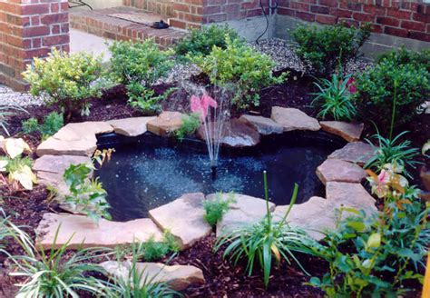 ponds water features heroes lawn and landscape