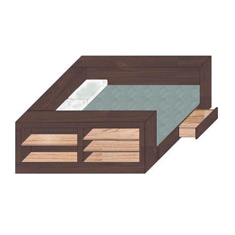 bed w storage box bed w storage tanglewood design