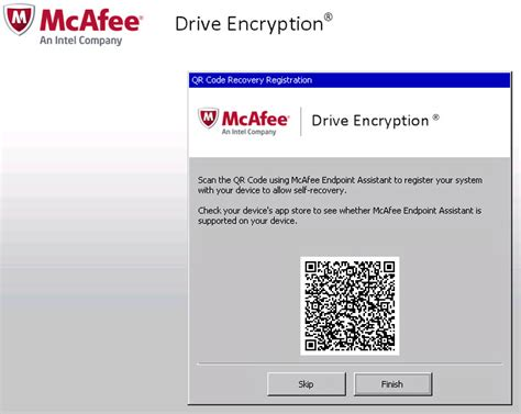 mcafee mobile security login mcafee drive encryption user recover with mobile phone
