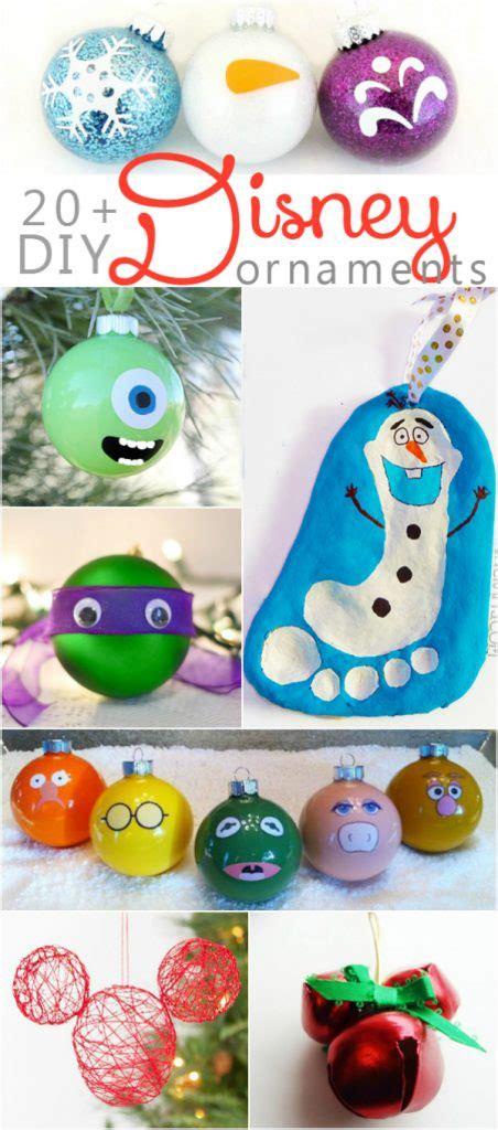 Diy Handmade Ornaments - 20 diy disney ornaments