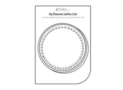 coin design template design your own jubilee coin ichild