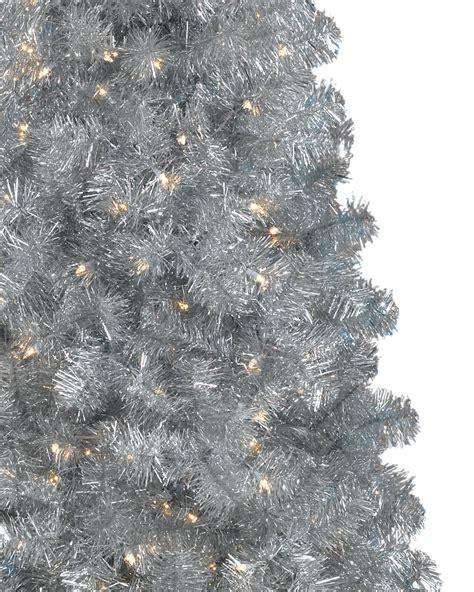 narrow tree artificial sixpence silver narrow tree treetopia uk