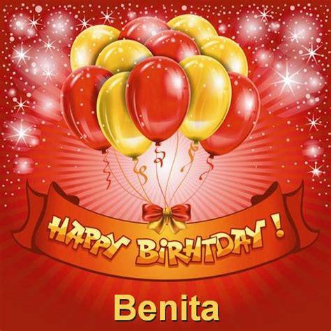 Happy birthday Benita Happy Birthday