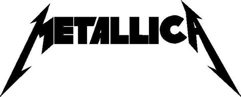 band decals and music decals metallica decal sticker