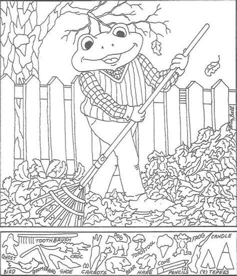 printable hidden picture coloring pages hidden pictures coloring sheets pages printables
