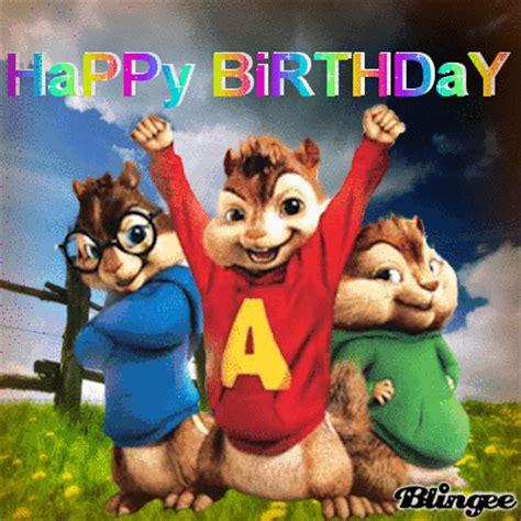 happy birthday alvin chipmunks mp3 download happy birthday picture 122795640 blingee com