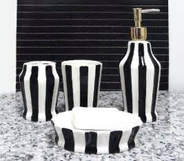 black and white bathroom accessories black and white decor find fabulous black and white