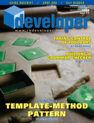xdev magazine rbd7 1 quot template method quot magcloud