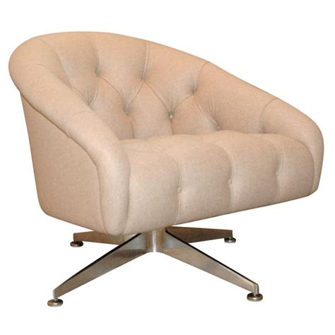 ward swivel chairs ward tufted swivel chair at 1stdibs