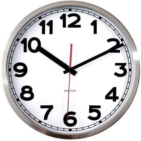Decorative Wall Clock Karlsson Numbers Wall Clock Wall Clocks