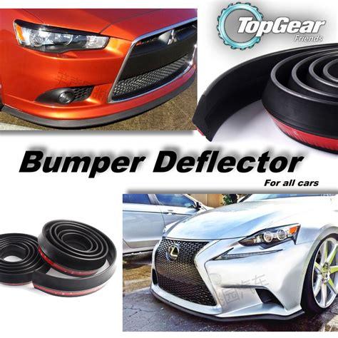 Lip Bumper Multideflector 7cm New bumper lip deflector skirt for car front rear all